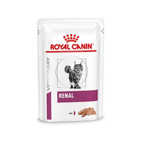Royal Canin Cat Renal mit Huhn in Mousse