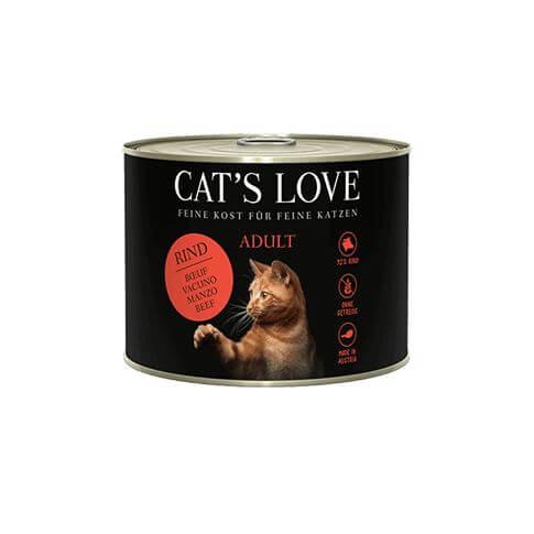 Cat's Love Adult Rind Pur Dosen