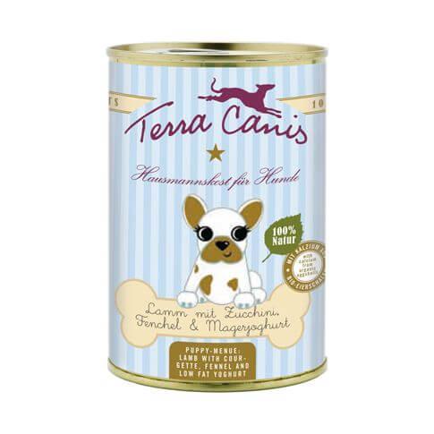 Terra Canis Welpe mit Lamm, Zucchini, Fenchel & Magerjoghurt
