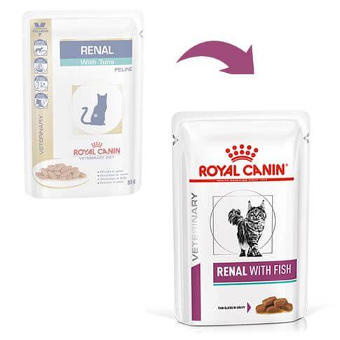 Royal Canin Cat Renal mit Thunfisch - Beutel