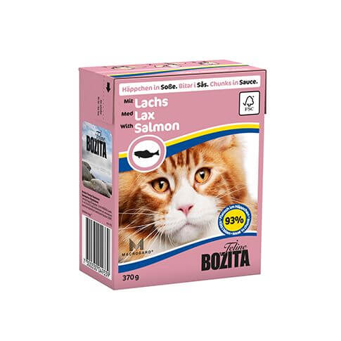 Bozita Cat Häppchen in Sosse Lachs