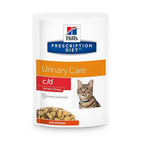 Feline c/d Urinary Stress Harntrakt Huhn - Beutel