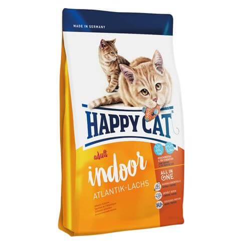Happy Cat Supreme Adult Indoor mit Atlantik-Lachs
