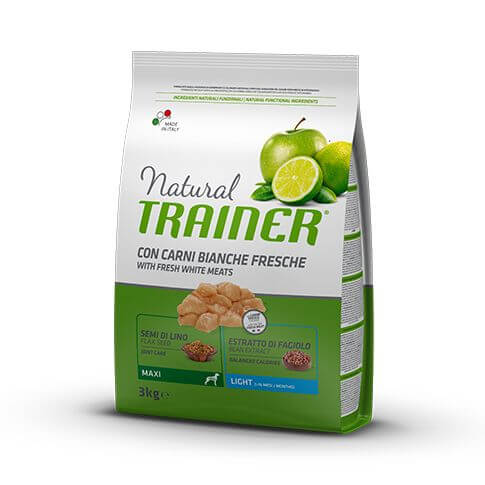 Trainer Natural Dog Light Maxi with White Fresh Meats