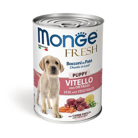 Monge Dog FRESH Puppy Veal & Vegetables