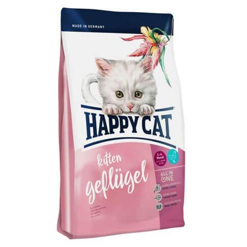 Happy Cat Kitten Geflügel