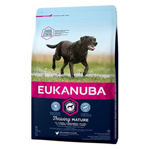 Eukanuba Thriving Senior Large mit Huhn