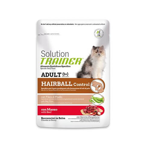 Trainer Solution Hairball Control with Beef
