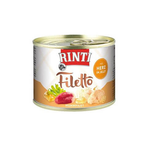 Rinti Filetto Huhn & Herz in Jelly