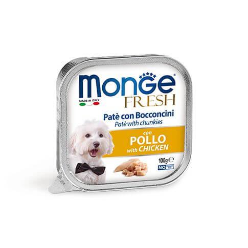 Monge Dog FRESH Paté Chicken