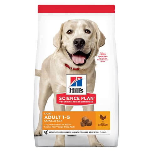 Hill's Science Plan Hund Adult Light Large Breed Huhn