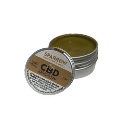 PetCBD Hanfbalsam mit 1% CBD