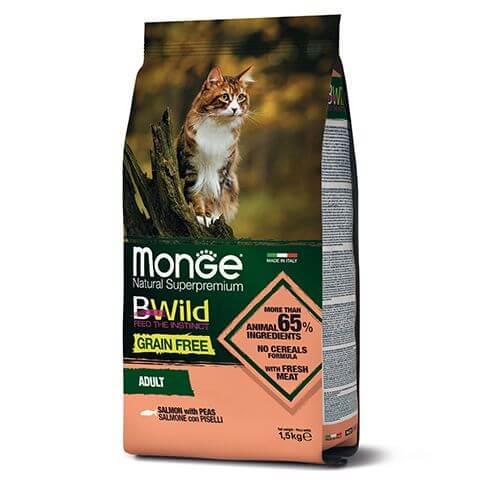 Monge Cat BWild Grain Free Adult Salmon