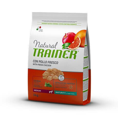 Trainer Natural Dog Maturity Medium with Fresh Chicken