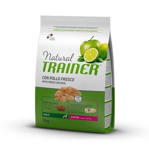 Trainer Natural Dog Junior Maxi (9-24 months) with Fresh Chicken