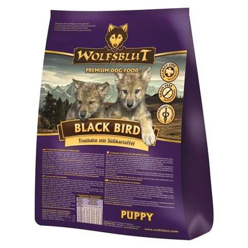 Wolfsblut Black Bird Puppy Truthahn & Kartoffel