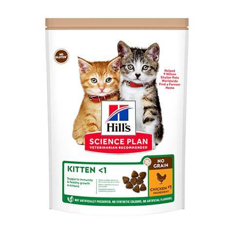 Hill's Science Plan No Grain Kitten Huhn