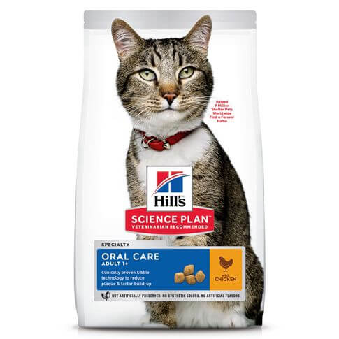 Hill's Science Plan Katze Adult Oral Care Huhn