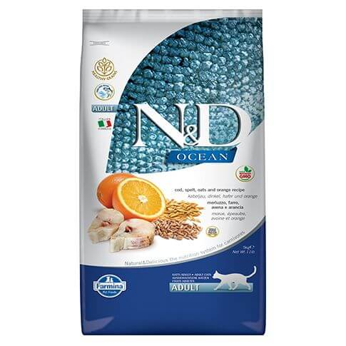 Farmina Ocean Healthy Grain Cat Adult Fisch & Orange