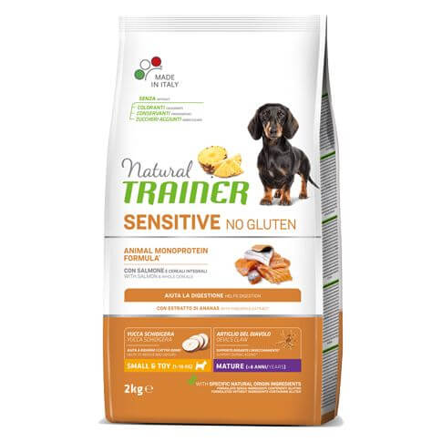 Sensitive Dog Maturity Small & Toy mit Lachs