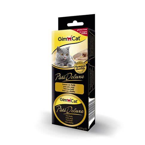 GimCat Pâté Deluxe mit Kalb