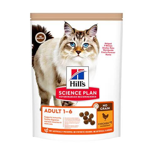 Hill's Science Plan No Grain Katze Adult Huhn
