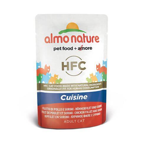 Almo Nature HFC Cuisine Hühnerfilet & Surimi
