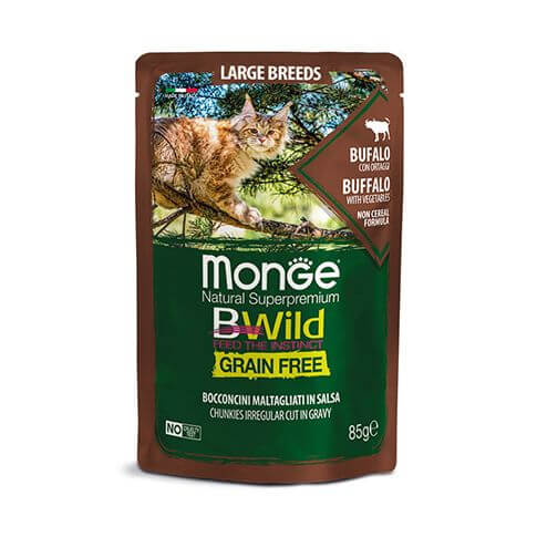 Monge Cat BWild GF LARGE Buffalo