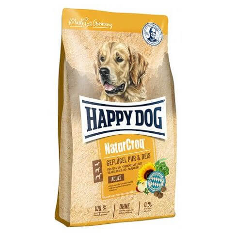 Happy Dog NaturCroq Adult Geflügel pur & Reis