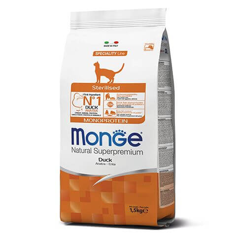 Monte Cat Monoprotein Sterilised Duck