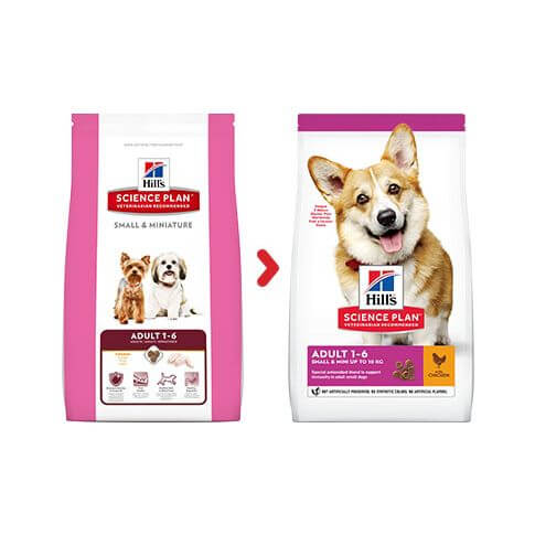 Hill's Canine Adult Small+Miniature Huhn&Truthahn