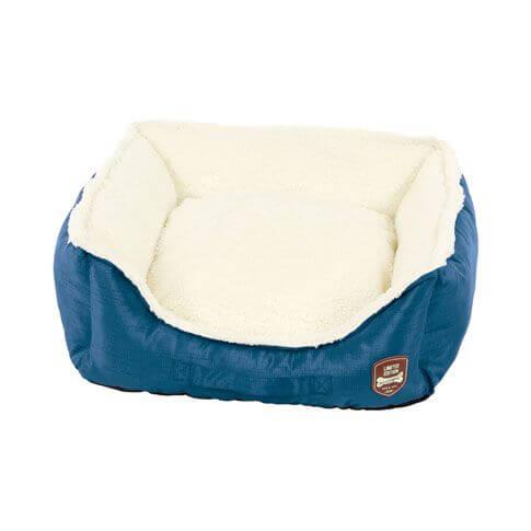 Hundebett / Katzenbett Prinzi, blau