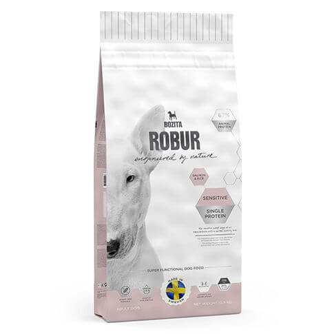 Bozita Robur Dog Sensitive Single Protein Salmon