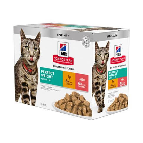 Hill's Science Plan Katze Adult Perfect Weight Multipack