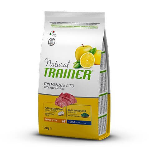 Trainer Natural Dog Adult Small&Toy with Beef and Rice