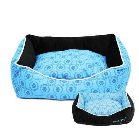 Katzenbett / Hundebett Pawi, blau