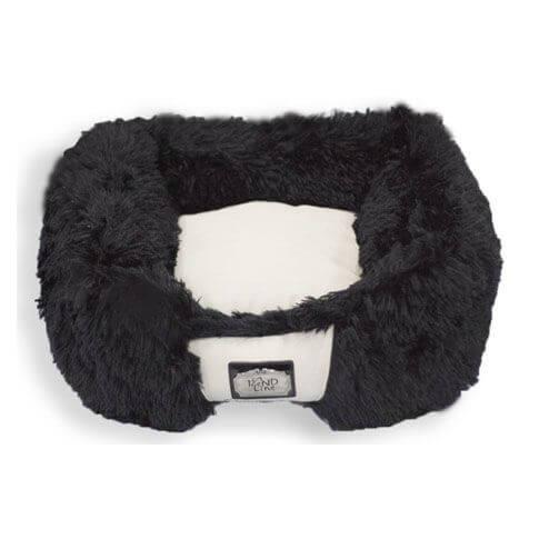 Hundebett / Katzenbett Lakso, schwarz