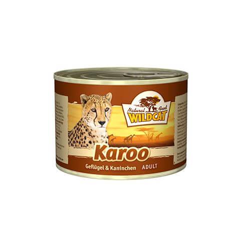 Wildcat Karoo Kitten Kaninchen & Geflügel Nass