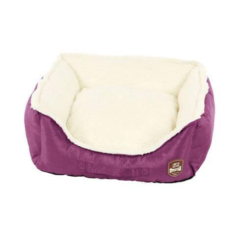Hundebett / Katzenbett Prinzi, violett