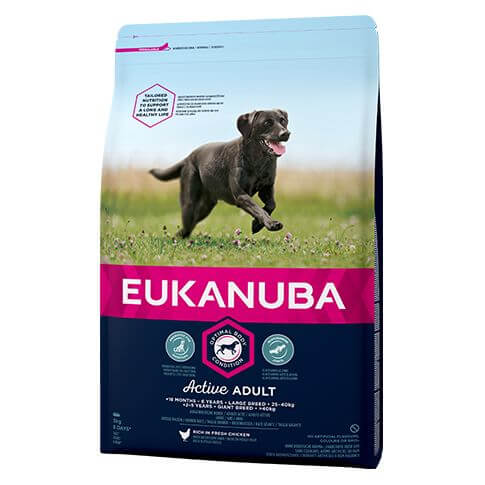 Eukanuba Active Adult Large mit Huhn