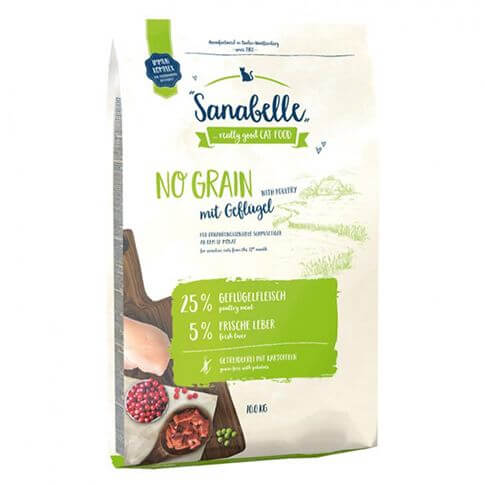 Cat Sanabelle No Grain mit Geflügel