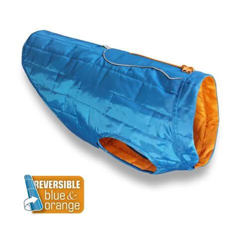 Kurgo Loft Hundemantel blau / orange
