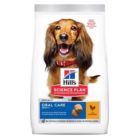 Hill's Science Plan Hund Adult Oral Care Medium Huhn