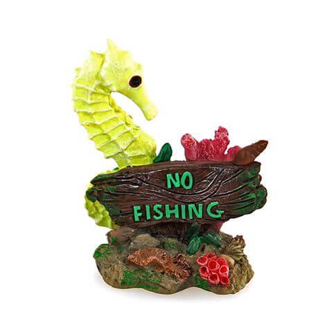 Aquarium-Deko Seepferdchen No Fishing