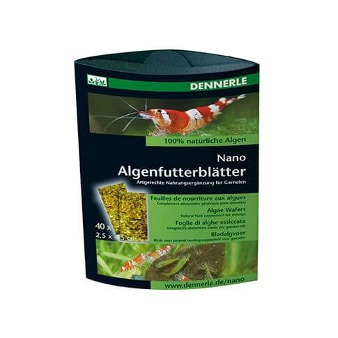 Dennerle Nano Algenfutterblätter