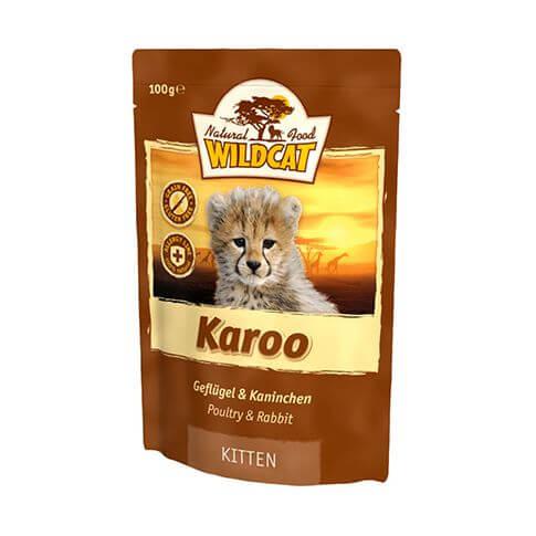 Wildcat Karoo Kitten Kaninchen & Geflügel - Beutel