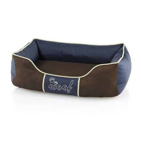 Gesundheits-Hundebett Woof, blau