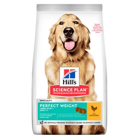 Hill's Science Plan Hund Adult Perfect Weight Large Breed Huhn