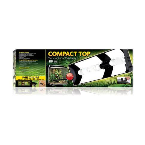 Exo Terra Compact Top Terrarienlampen-Abdeckung Medium