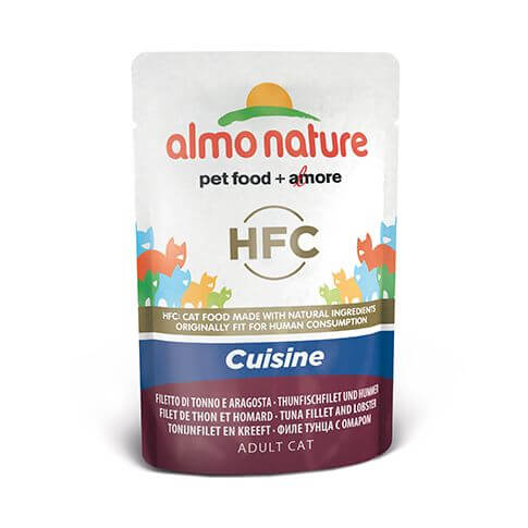 Almo Nature HFC Cuisine Thunfischfilet & Hummer